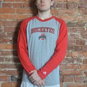 Ohio State Buckeyes Adidas Long Sleeve Shirt (OSU)